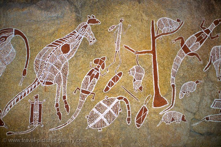 Aboriginal Rock Painting Images