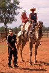 a tourist camel ride, Alice Springs