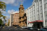 downtown Hobart, GPO in the centre