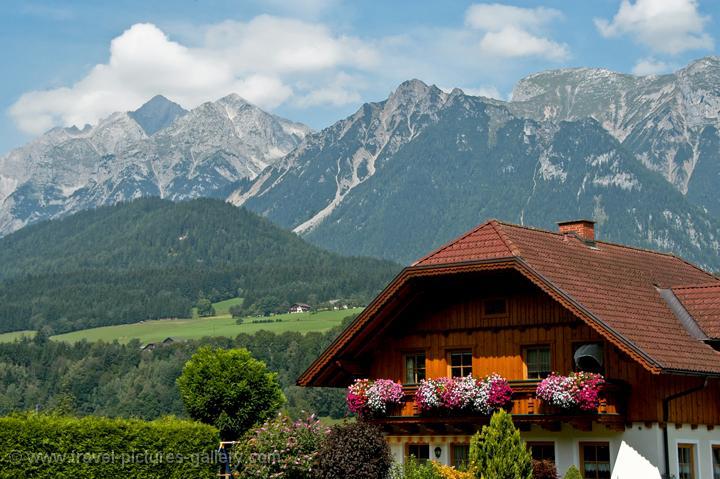 Pictures of Austria - Countryside - Mountains - alpine landscape, Oberösterreich, Dachstein