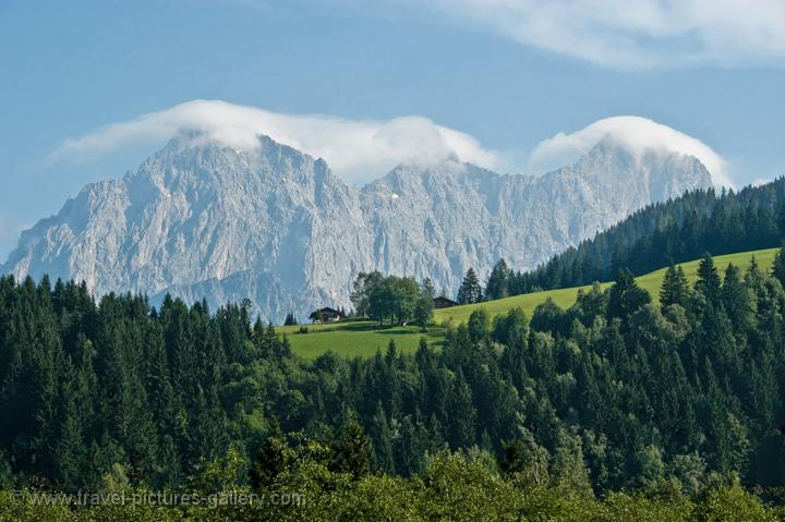 Pictures of Austria - Countryside - Mountains - alpine landscape, Dachstein Alps