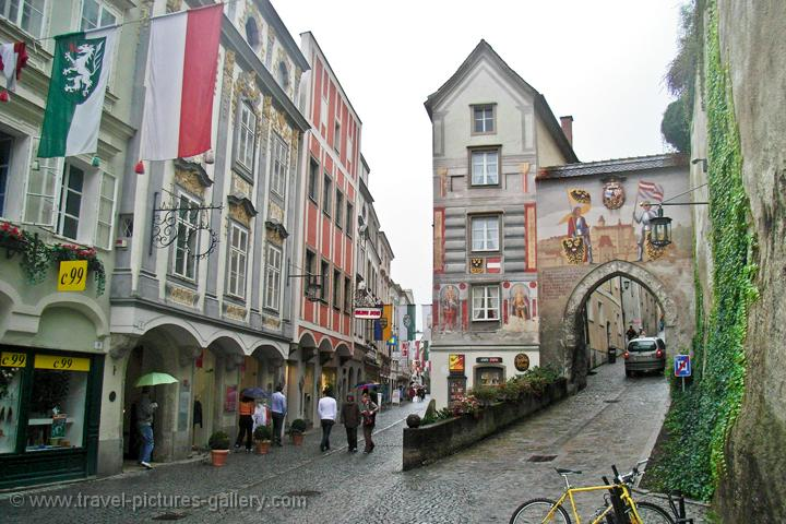 the baroque town of Steyr