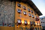 hotel facade, Radstadt
