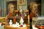 Mozart city souvenirs