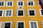 Mozart's birth house, 'geburtshaus'