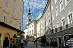 Pictures of Austria - Salzburg - Linzergasse, Sebastians Church