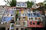 Hundertwasser haus by architect Friedensreich Hundertwasser