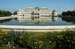 Pictures of Austria - Vienna - the upper Belvedere Palace, built between 1714 -1724