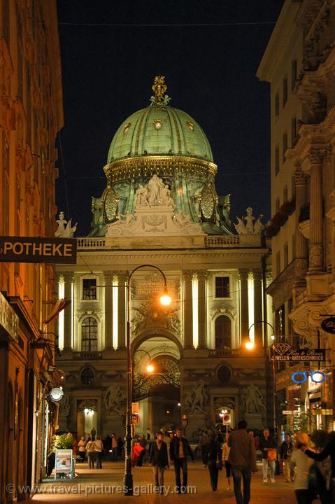 night atmospehere, Alte Hofburg