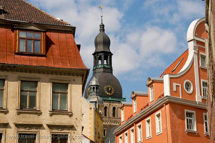 - Latvia - Riga old town, Riga Dome Cathedral