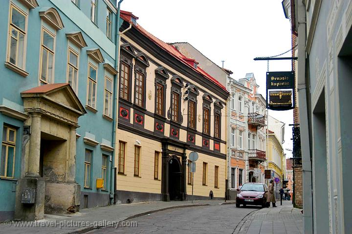 Pictures of Lithuania - old town Vilnius
