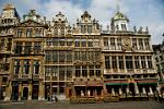 Pictures of Belgium - brussels - Baroque Guild Houses on the Grand Place (Grote Markt)