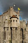 the Gravensteen, the 'castle of the counts'