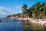 Caye Caulker, boat landings, waterfront
