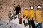 visiting the Cerro Rico mine, the major source of Spanish silver