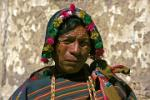 traditionally dressed man, Tarabuco