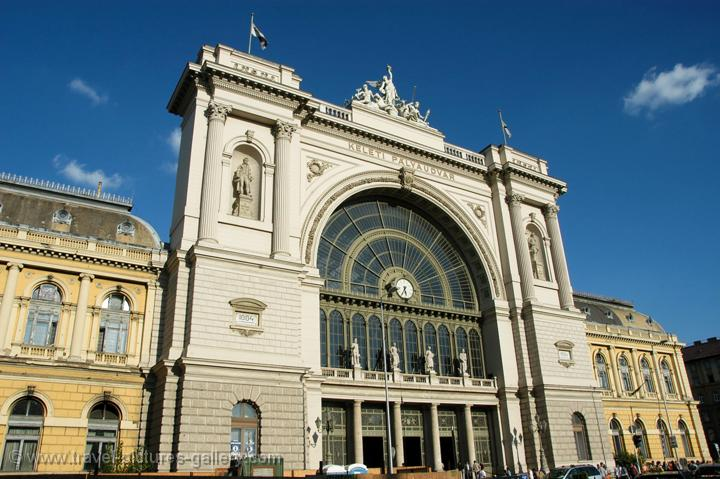 Pictures of Hungary - Budapest - Central Train Station (Keleti Palyaudvar)
