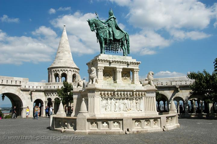 Statue of St. Stephen, Fisherman's Bastion