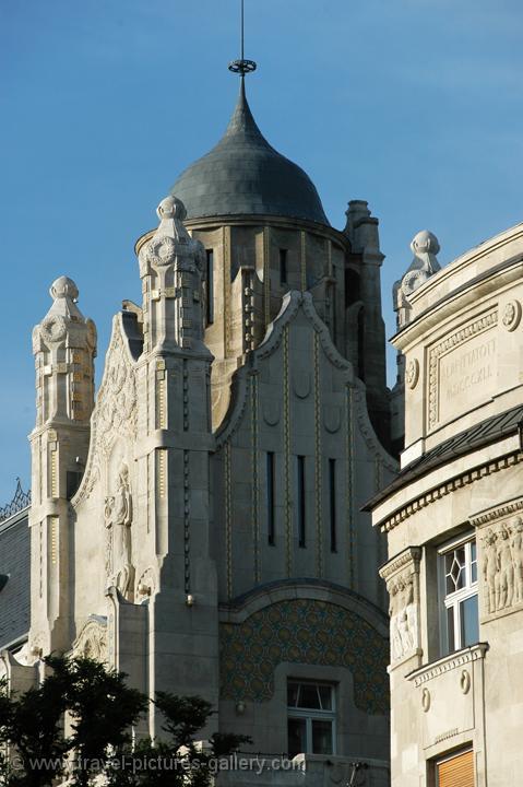 Travel Pictures Gallery Budapest 0080 Jugendstil Art