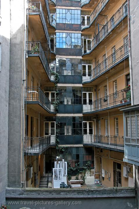 Travel Pictures Gallery Budapest 0128 Balconies In An