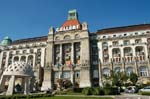 Pictures of Hungary - Budapest - the Art Nouveau style of the Gellert Hotel