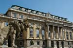 Pictures of Hungary - Budapest - Buda Castle Palace