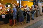 people shopping at the Great Market Hall