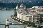 Pictures of Hungary - Budapest - Danube River bank, Pest side