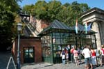at the Castle Hill Funicular