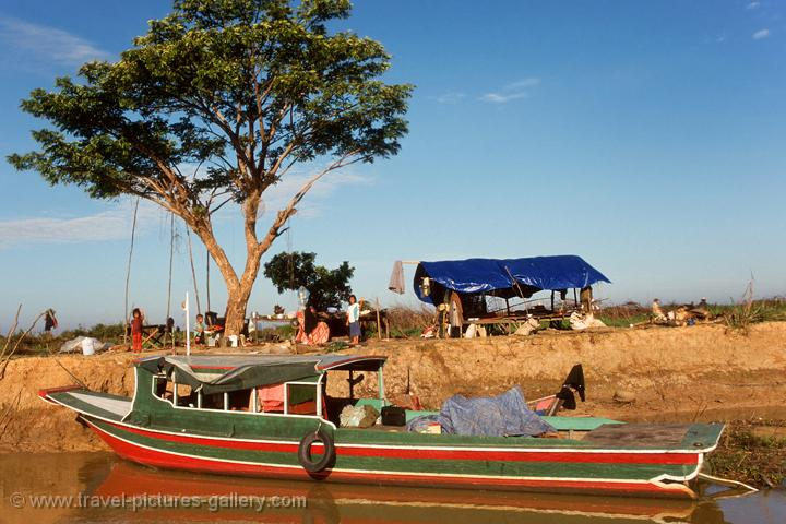 Sangker River, boat trip from Battambang to Tonle Sap
