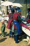 Bai minority people at the market in Shaping