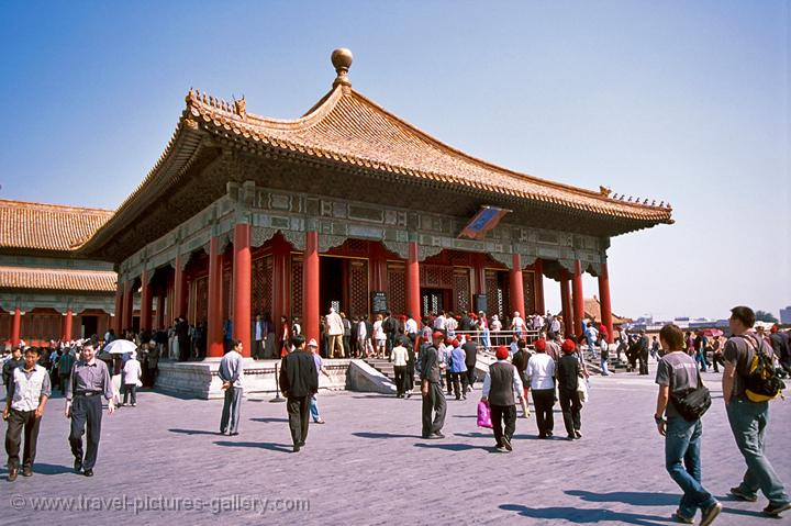 Hall of Middle Harmony Forbidden City Beijing