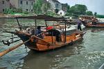 a Chinese Junk at the Grand Canal, near Taihu Lake