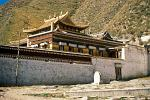 a temple at Labrang Monastery