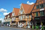 half-timber houses, shops, Aalborg is the most important city in North Jutland