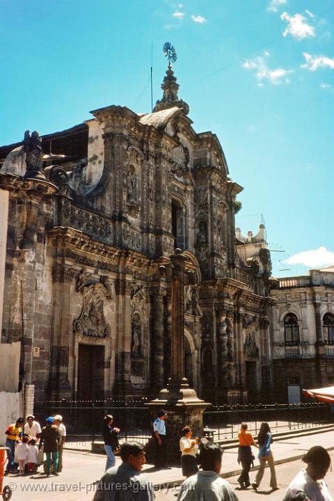 Pictures Of Ecuador Quito 0020 Baroque Church Facade Spanish
