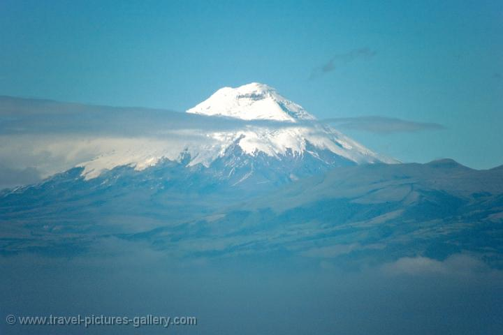 snow-capped Cotopaxi