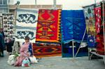 rugs with traditional design, textiles