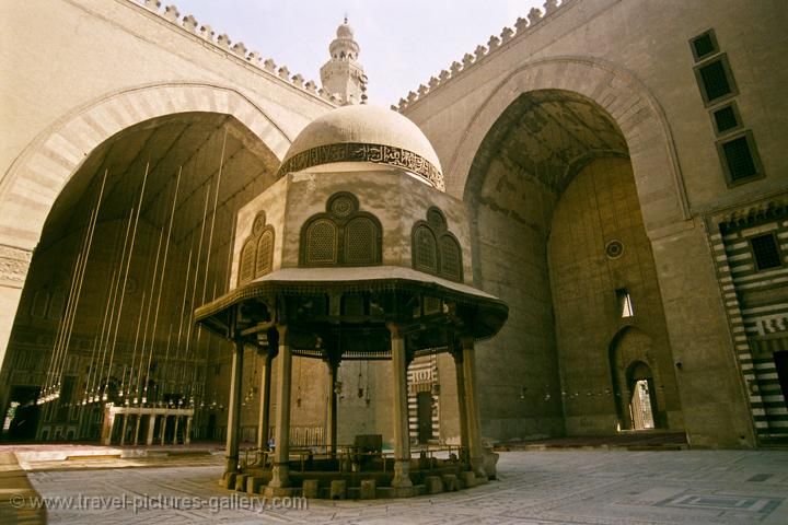 in the Mosque of Sultan Hassan, Islamic Cairo