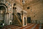 mimber (pulpit), Mosque of Sultan Hassan, Islamic Cairo