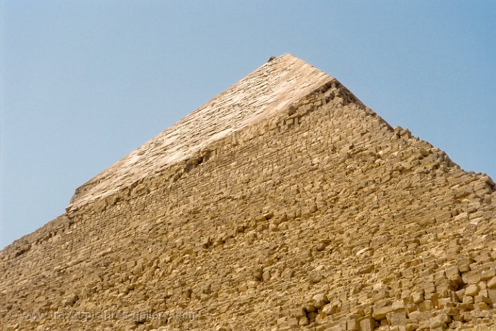 the Great Pyramid of Chefren was built around 2532 BCE