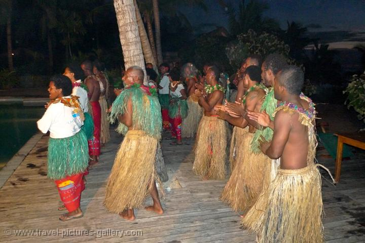 Pictures of Fiji - Yasawas-0081 - local people performing at a Meke