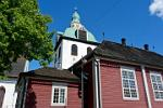 the Porvoo Cathedral Bell tower