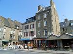 cafe and restaurant, St Servan, St Malo