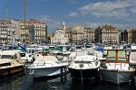Marseille port, marina
