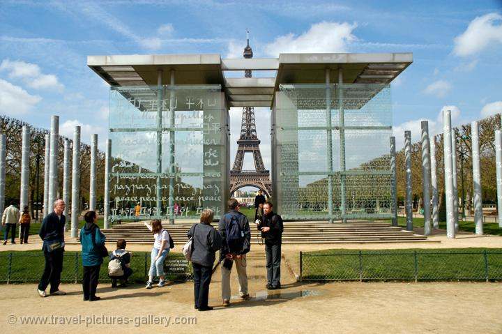 Pictures Of France Paris 0052 Peace Monument Near The