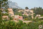 villas in the hills around Eze