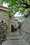 in the old town of Eze