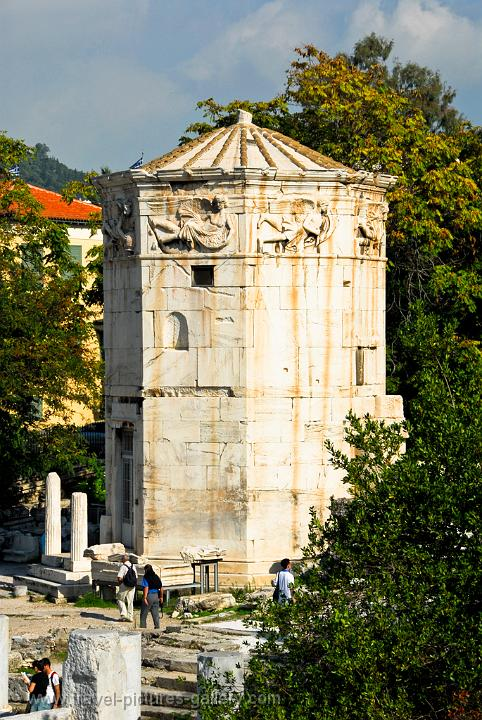 the Tower of the Winds, also called Horologion, Roman Agora