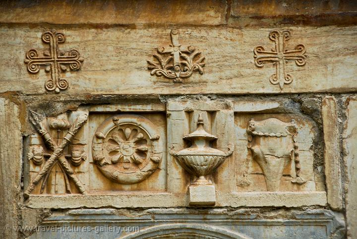 Pictures Of Greece Athens 0057 Early Christian Symbols At The